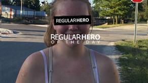 REGULAR HERO TEEN SAVES MAN WHOSE WHEELCHAIR WAS STUCK IN TRAIN TRACKS