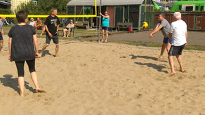 Eisenbahner beenden Beach Saison!