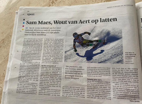 Sam Maes, Wout van Art op latten.