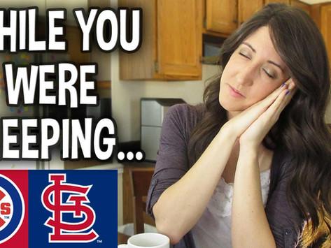 About Last Night: St. Louis Cardinals Bats AWAKE in Late-Night Winner!