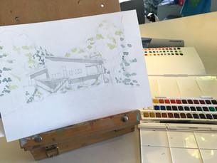 Watercolour in progress...