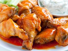 Baked Buffalo Chicken Hot Wings