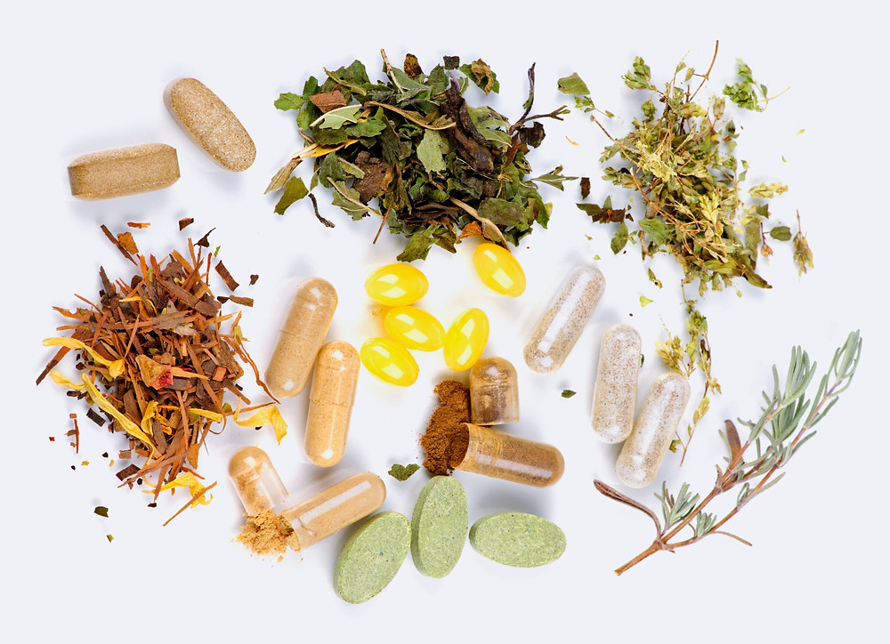 Herbal medicine is, in my opinion, the best Natural Treatment for Lyme disease.  This picture depicts natural antibiotics for Lyme disease.