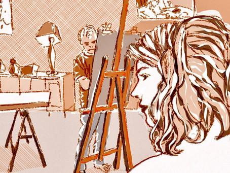 Le blog de l'artiste : Mes dessins de la séance du 21 /09 /20 sur Ipad