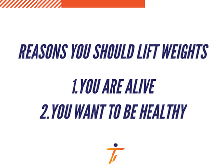 Reasons to Lift Weights