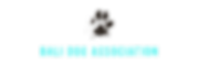 Logo Bali Dog Association Web Green Trus