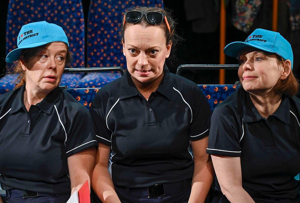 Ladies That Bus (l-r) Lisa Howard, Helen Longworth and Joyce Branagh All pictures: Joel Chester Fildes