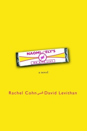 this book cover shows a bright yellow background, pink text and a single stick of gum