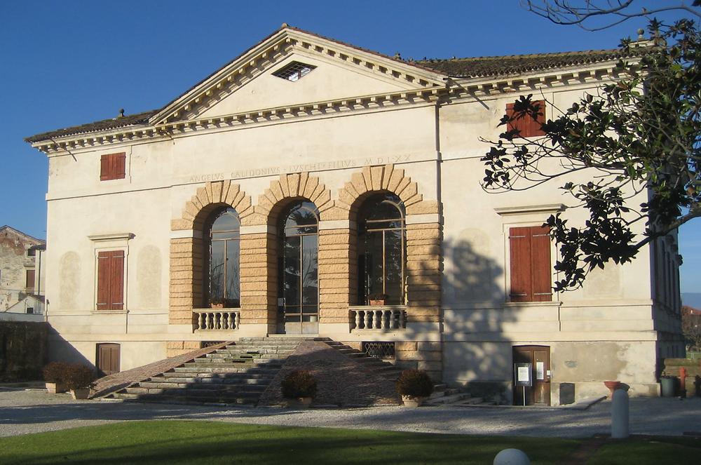 Palladian architecture, villa caldogno, Andrea Palladio, gary paul, classical homes