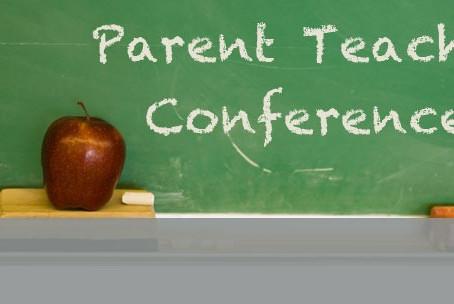 Parent/Teacher Conferences-October 1