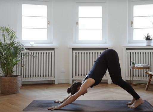 Meine push ups für Corona hangout - Tipp 14: Self Care Yoga