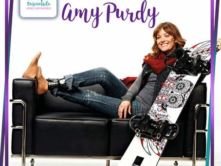 If your life were a book, how would you want it? The question that changed Amy's Purdy life forever