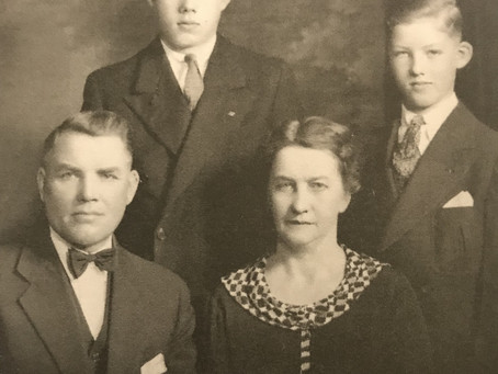Remembering Dad-The Hans Stene Family