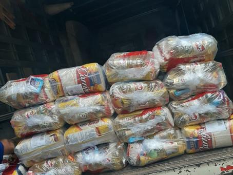 Super Nosso doa 100 cestas para nossa campanha