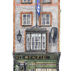Benzie Jewellers - a little history of number 61 Cowes High Street