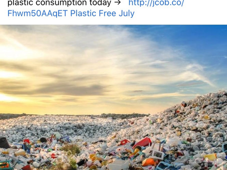 Think Globally, Act Locally-Plastics Your Part