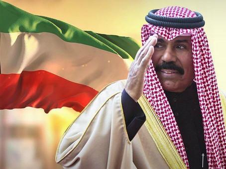 خير خلف لخير سلف..الشيخ نواف الاحمد الجابر الصباح