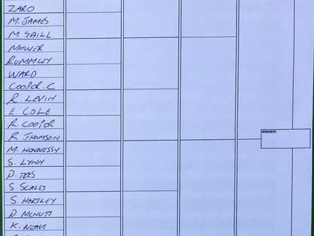 Doubles Draw