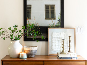 Key Items for Styling an Entryway