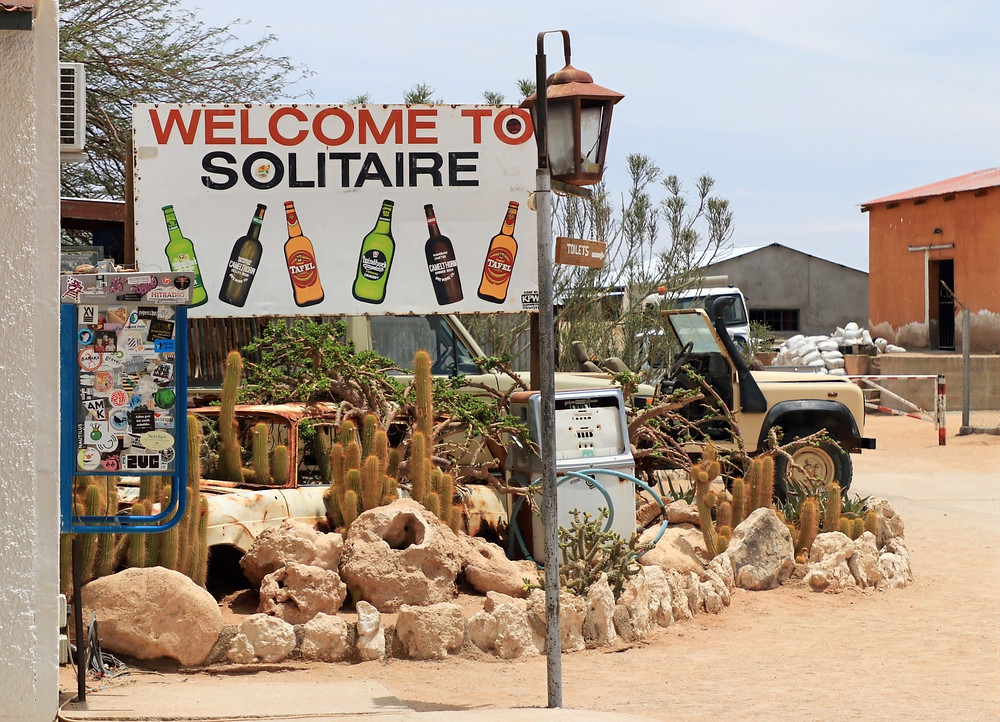 Solitaire in Namibia