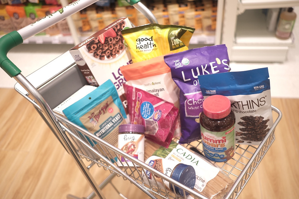 healthy options products - mom atlast cart