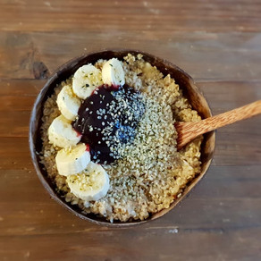 Homemade Porridge gluten free