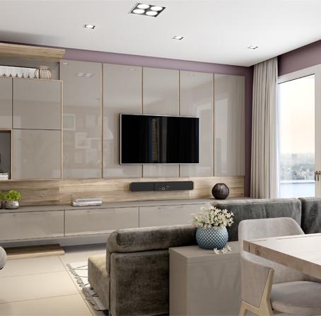 Painel de TV: Qual a distância ideal para a TV?