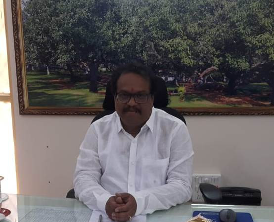 Mahabubnagar district collector S. Venkat Rao