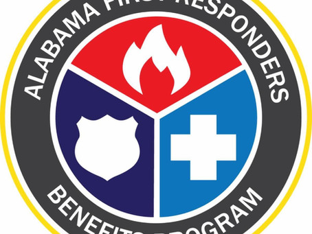 Alabama First Responders Benefit Program attends and speaks at the Alabama Association of Fire Chief