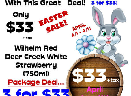 EGG-SPECIAL EASTER DEAL-Apr 1st-11th
