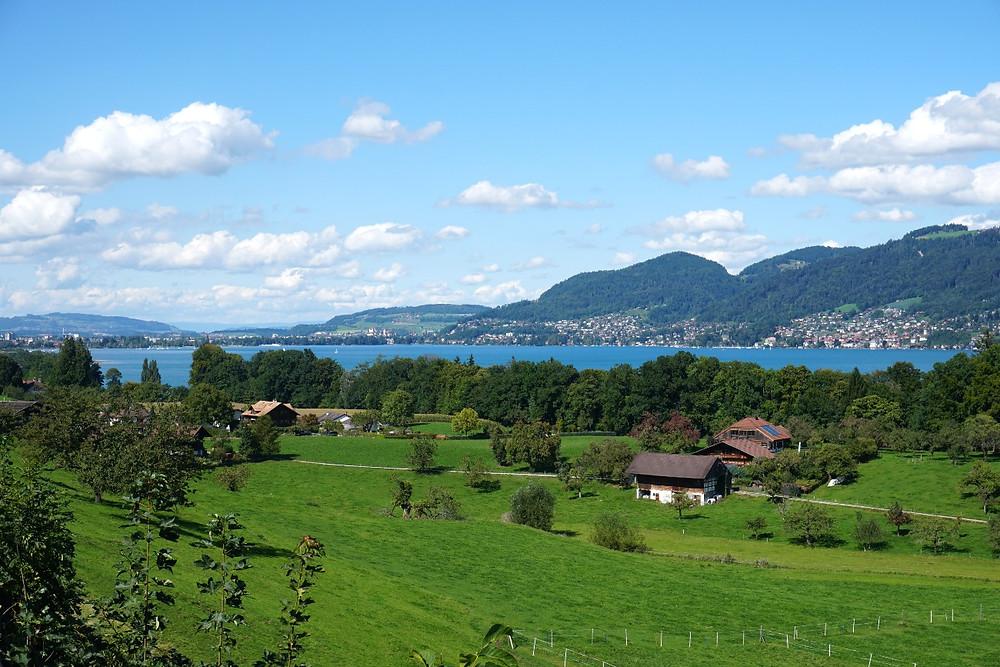 אגם תון שווייצריה, מסלול טיול בשוויץ