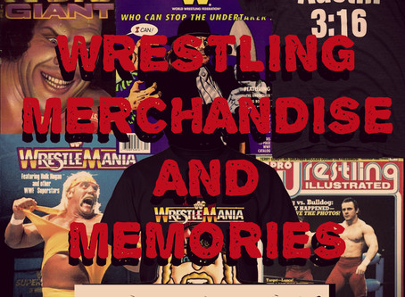 Wrestling Merchandise and Memories Episode 10: Card Corner