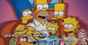 ¿Qué pasó con Los Simpsons?