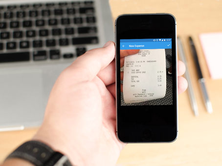 Mobile app idea #34: Automatic Expense Report