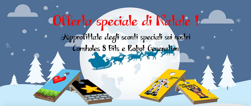 so-cornhole.it | Offerta speciale di Natale!