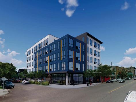 Apartments, retail proposed at Lake & Garfield