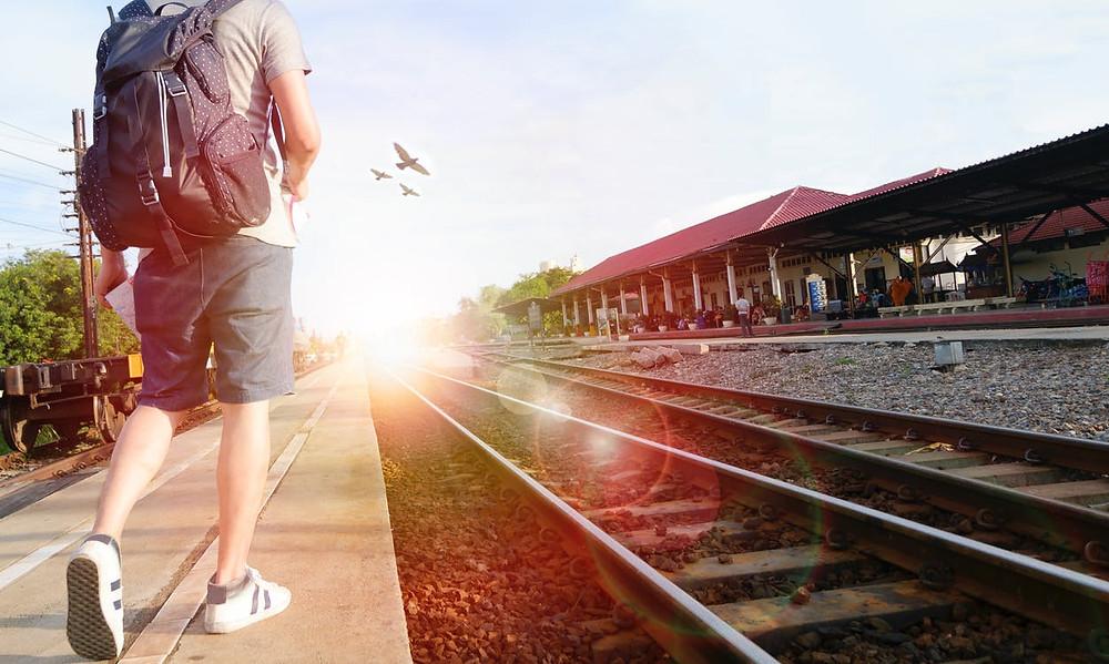 tren, viaje, sueños, camino, sé el jefe, hectorrc.com