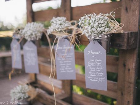 La décoration de mariage : 5 questions à se poser pour savoir par où commencer