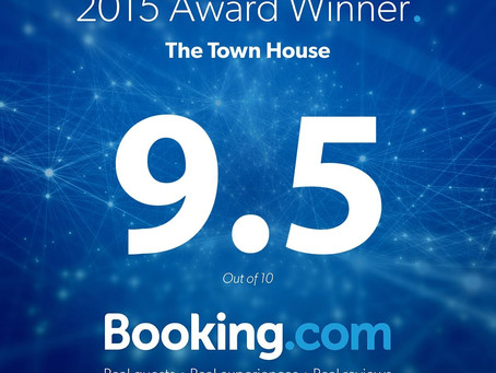 TOP RATING FROM BOOKING.COM