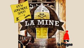 New Cornhole Spot : bar La Mine en La Plagne