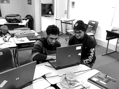 How two students helped their classmates during COVID-19