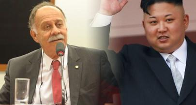 PDT manda deputado à Coreia do Norte, que fala em abrir parceria com Kim Jong-Un