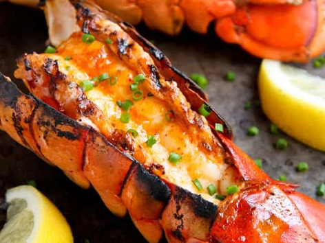 How to grill a lobster
