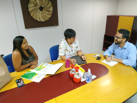 Presidente da Casa do Menor se reúne com secretário do Governo da Paraíba