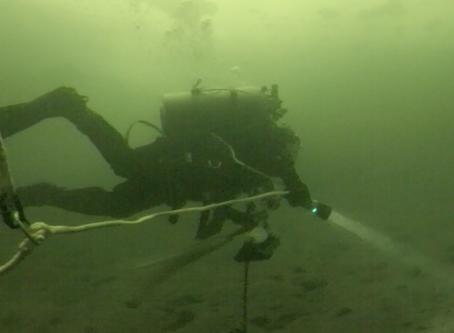 2nd Ice Dive on Lake Nagawicka 2/16/20