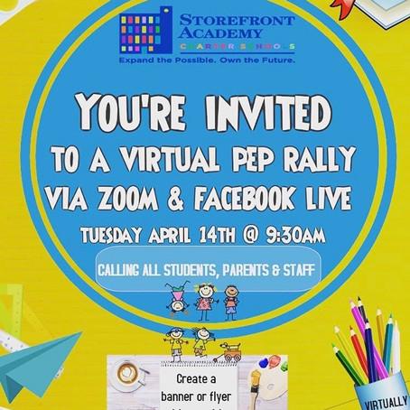 Virtual Pep Rally!