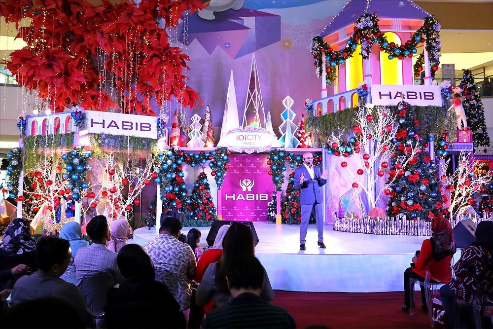 Dato Sri Meer Habib Gem Festival 2019 IOI City Mall Putrajaya