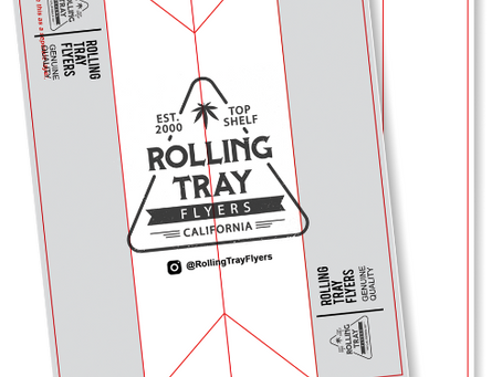 Rolling Tray Flyers FREE Design Template