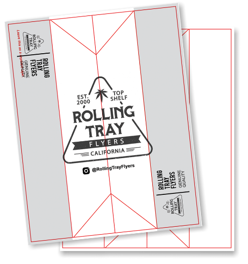 Rolling Tray Flyer FREE Design Template