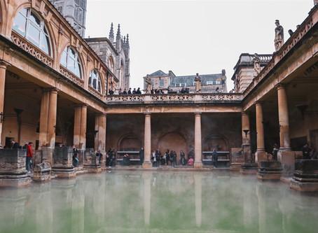 Bath - Római fürdőzés Anglia szívében